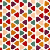 Vector funky retro naadloos patroon Royalty-vrije Stock Foto