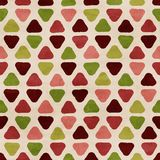 Vector funky retro seamless pattern Stock Photos