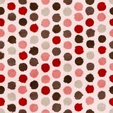 Vector funky retro seamless pattern Royalty Free Stock Photos