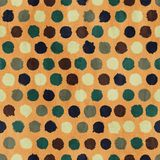 Vector funky retro seamless pattern Royalty Free Stock Images