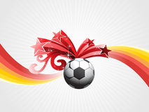 Vector funky sports illustration Royalty Free Stock Images
