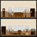 Vector furniture icon set stock illustration