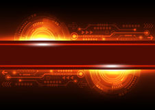 Vector future network telecom technology, abstract background. Illustration Stock Photos
