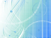 Vector futuristic background Royalty Free Stock Image