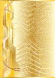 Vector futuristic background Stock Image