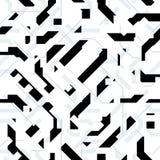 Vector Futuristic Texture Seamless Pattern vector illustration