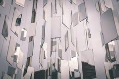 Vector Futuristische Achtergrond - uitstekend filmeffect Royalty-vrije Stock Fotografie