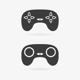Vector gamepad set Stock Images