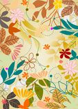 Vector garden background Royalty Free Stock Images