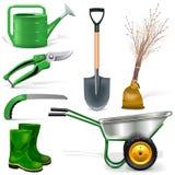 Vector Garden Icons Set 1 Royalty Free Stock Photography