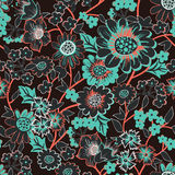 Vector garden seamless pattern Stock Images