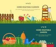 Vector garden work Royalty Free Stock Photo