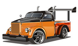 Vector gaz-51 hotrod Stock Photo
