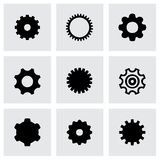 Vector gear icon set Royalty Free Stock Image