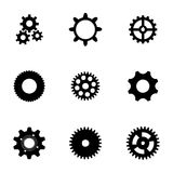 Vector gear  icons set Stock Photo