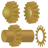 Vector Gears Stock Photo