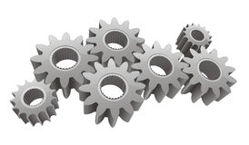 Vector gears Royalty Free Stock Images