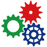 Vector Gears Icon 2 Royalty Free Stock Photo