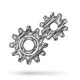 Vector gears Stock Photos