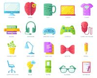 Vector it geeks people colorful icons illustrations set. Flat office professional developer around workplace technology. Vector it geeks people colorful icons stock illustration