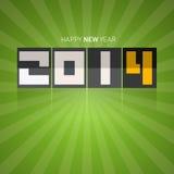 Vector Gelukkige Nieuwjaarachtergrond Stock Afbeeldingen