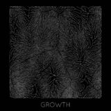 Vector generative branch growth pattern. Square texture. Lichen like organic structure with veins. Monocrome square. Biological net of vessels vector illustration