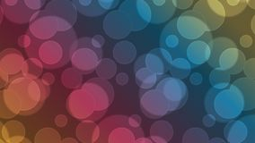 Vector geometric abstract background. Bokeh style Royalty Free Stock Image