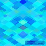 Vector geometric abstract background. Creative design templates stock illustration