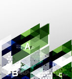 Vector geometric abstract background Stock Image