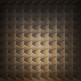 Vector geometric abstract background with shapes for web design. In brown colors Stock Images