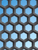Vector geometric abstract background Royalty Free Stock Photography