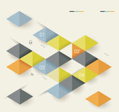 Vector geometric abstract background with triangle line stripe p Royalty Free Stock Image