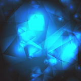 Vector geometric abstract background. With triangles Royalty Free Stock Images
