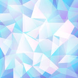 Vector geometric abstract background with triangles and lines. Poligon abstract background Royalty Free Stock Photos