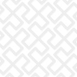 Vector geometric abstract pattern - gray seamless simple tribal Stock Photography