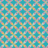 Vector geometric abstract rounds pattern stock photo