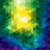 Vector geometric background Stock Photo