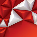 Vector geometric background. Royalty Free Stock Image