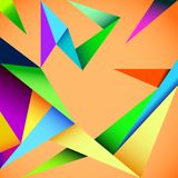 Vector geometric background. Cover design, book design, website background Stock Photography
