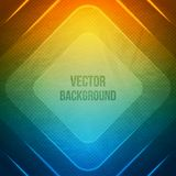 Vector Geometric Background. Grunge background. With squares. Retro illustration Royalty Free Stock Photo