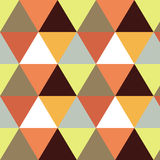 Vector geometric background. Mosaic. Abstract vector Illustration. Rhomb pattern triangle texture. Can be used for Royalty Free Stock Photography