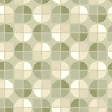 Vector geometric background, neutral spherical abstract seamless Royalty Free Stock Image