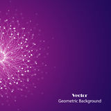 Vector geometric background Stock Photography