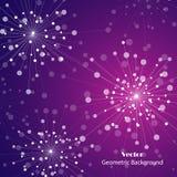 Vector geometric background Stock Photos