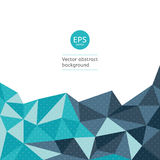 Vector geometric backgrounds. Royalty Free Stock Images