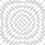 Vector geometric checkered pattern. Op art style ornament. Royalty Free Stock Images