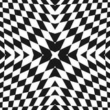 Vector geometric checkered pattern. Pop art ornament. Stock Photography