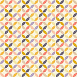 Vector Geometric Circle Pattern Royalty Free Stock Photos