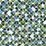 Vector geometric colorful abstract seamless pattern Stock Images