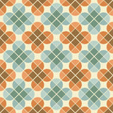 Vector geometric colorful floral background, ornamental abstract Royalty Free Stock Photos